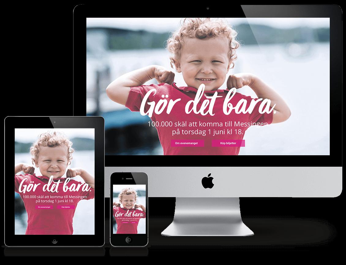 gordetbara webpage design